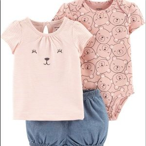 Carters Little Bear 3 piece outfit. NWT - Host Pic
